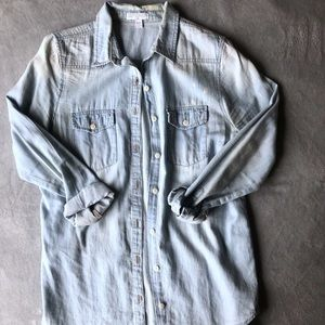Cotton On Denim-Like Button Up